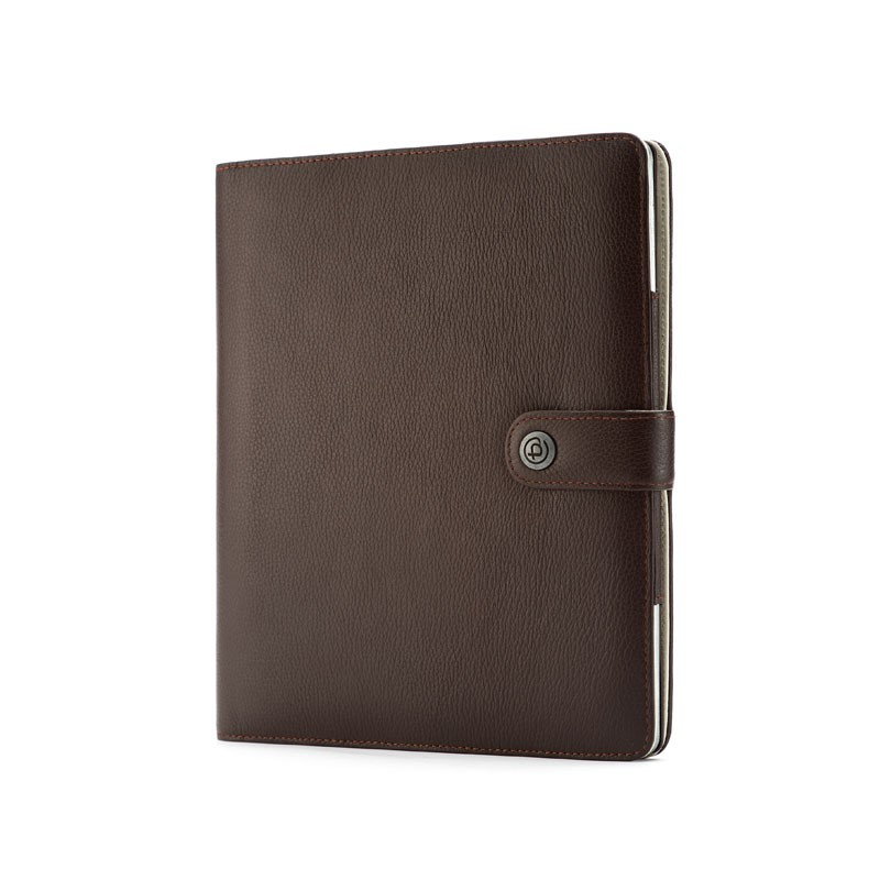Booq Booqpad iPad 3 Leather Coffee/cream - 3