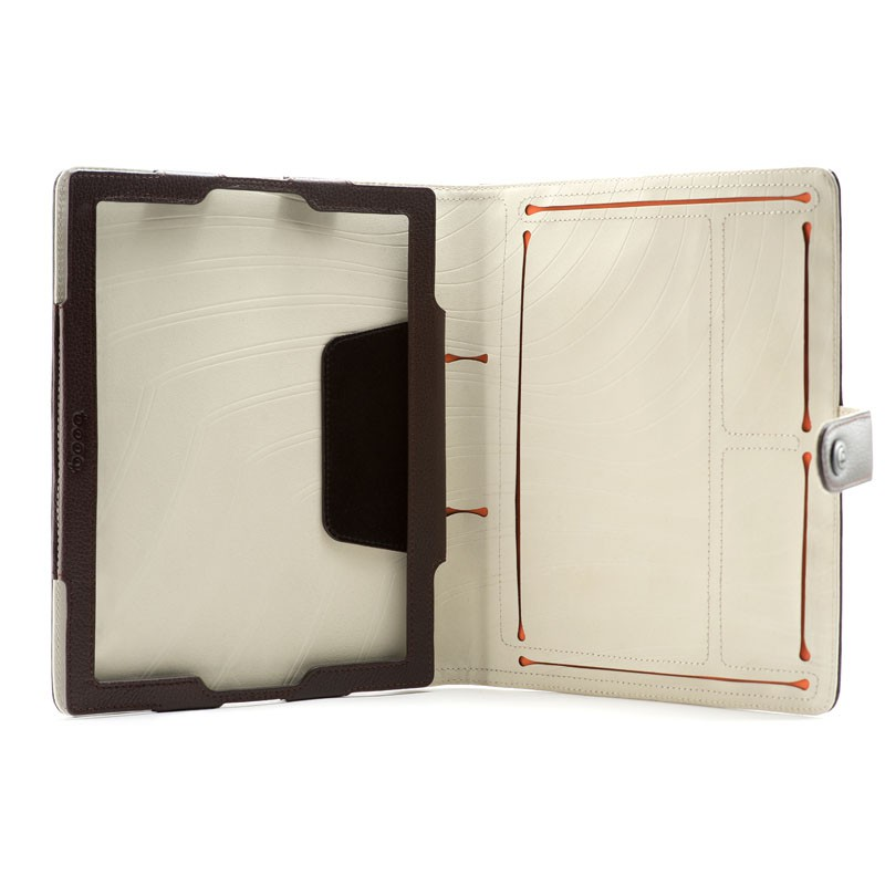 Booq Booqpad iPad 3 Leather Coffee/cream - 5