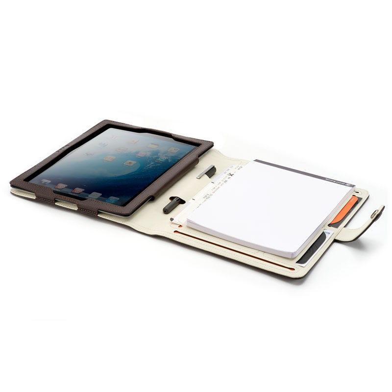 Booq Booqpad iPad 3 Leather Coffee/cream - 7